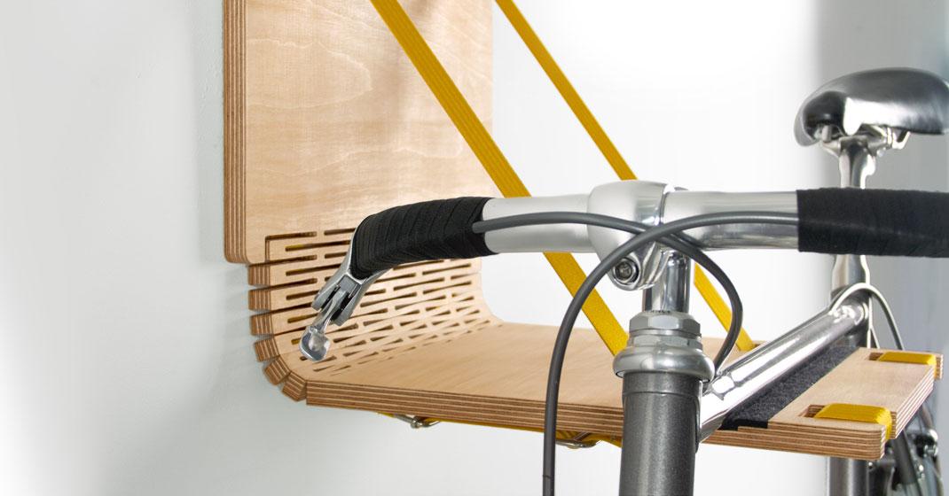 yellow - Bike Dock von .flxble