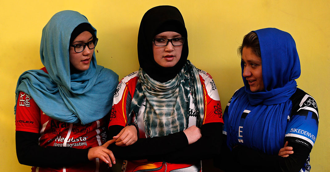 afghanistanswomensnationalcyclingteam - Afghanistan's Women's National Cycling Team