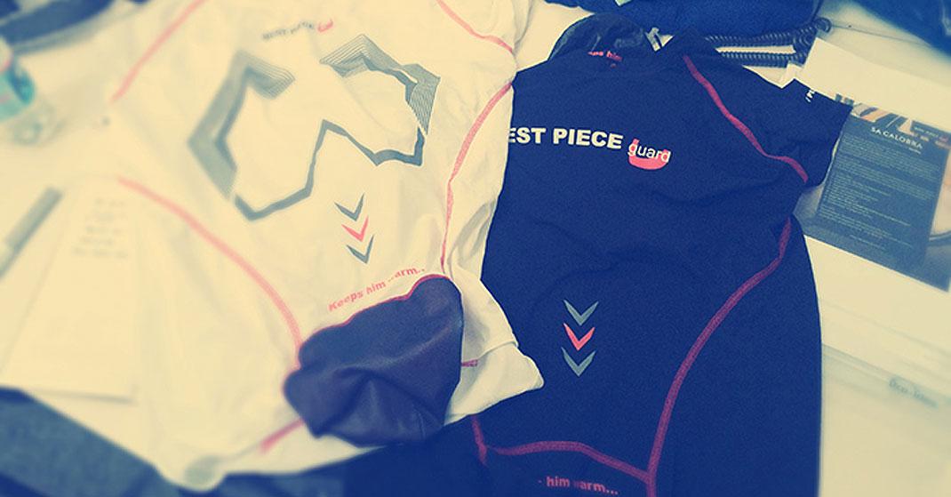 "best piece guard - BEST PIECE guard - Das innovative Radunterhemd ""keeps him warm"""
