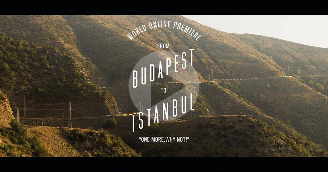 hardbrakers budapest istanb - Hardbrakers Grand Tour von Budapest nach Istanbul im Video
