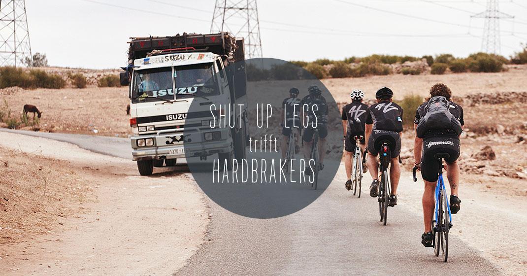 sul trifft hardbrakers - Shut Up Legs trifft: HARDBRAKERS aus Hamburg