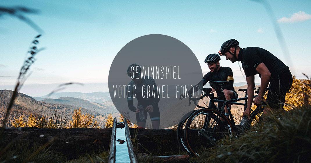 gewinnspiel votec gravel fondo - Gewinnspiel: Startplätze für den VOTEC Gravel Fondo am 15.-16. Oktober 2016