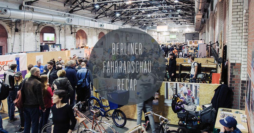 berliner fahrradschau 1 - Impressionen von der Berliner Fahrradschau 2017