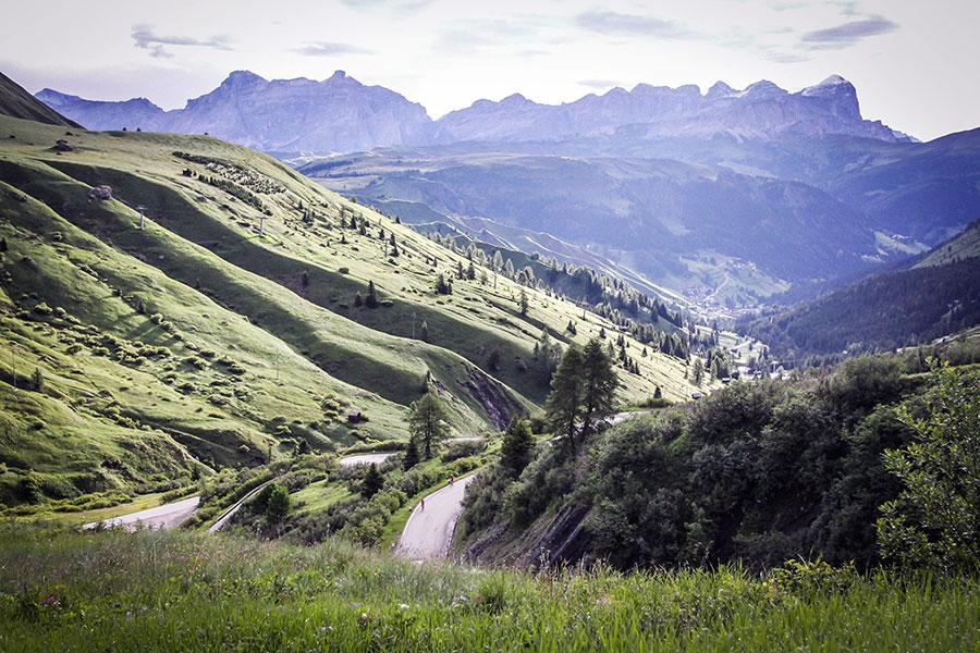 3848 VB1 00016 - Rennradfahren im Zeichen der Liebe: Maratona dles Dolomites
