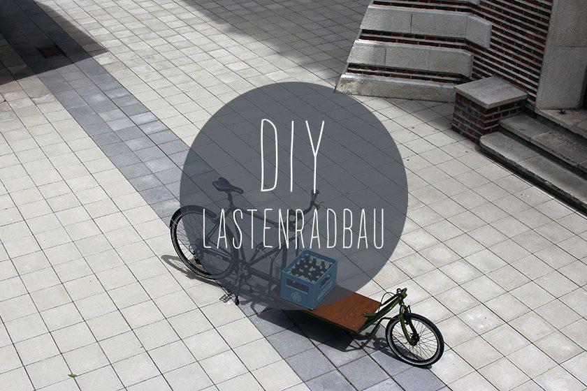 DIY Lastenrad bauen 840x560 - DIY: Wie man aus einem alten Fahrradrahmen und Stahlprofilen ein Lastenrad bauen kann
