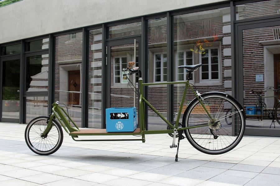 IMG 2430 - DIY: Wie man aus einem alten Fahrradrahmen und Stahlprofilen ein Lastenrad bauen kann