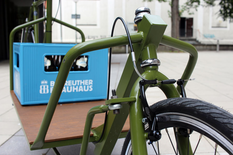 IMG 2447 - DIY: Wie man aus einem alten Fahrradrahmen und Stahlprofilen ein Lastenrad bauen kann