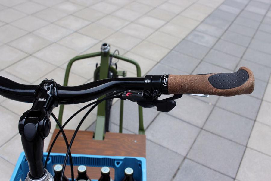 IMG 2458 - DIY: Wie man aus einem alten Fahrradrahmen und Stahlprofilen ein Lastenrad bauen kann