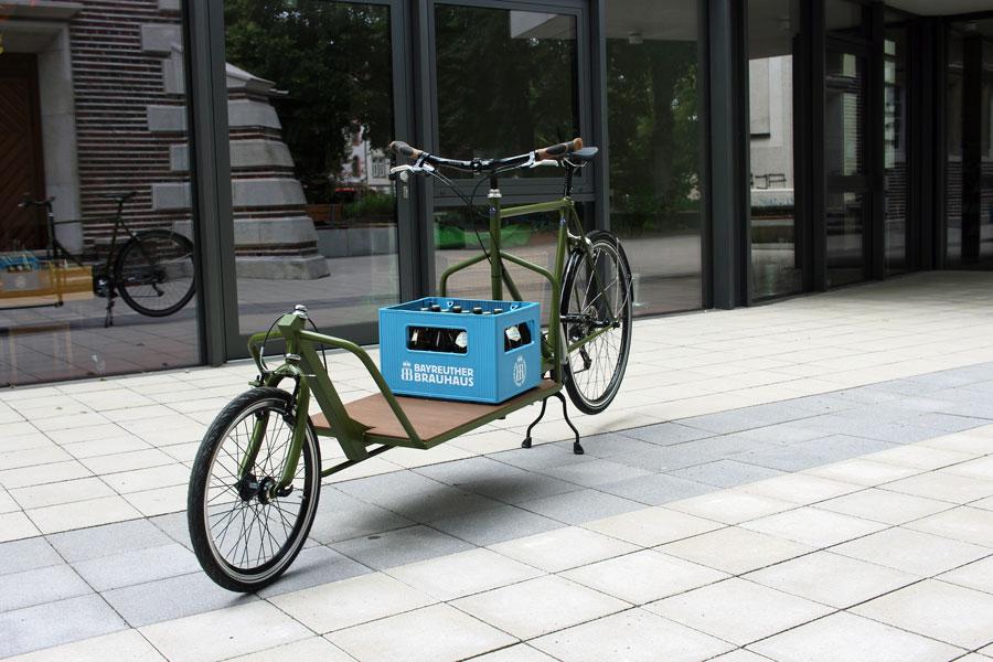 IMG 2474 - DIY: Wie man aus einem alten Fahrradrahmen und Stahlprofilen ein Lastenrad bauen kann