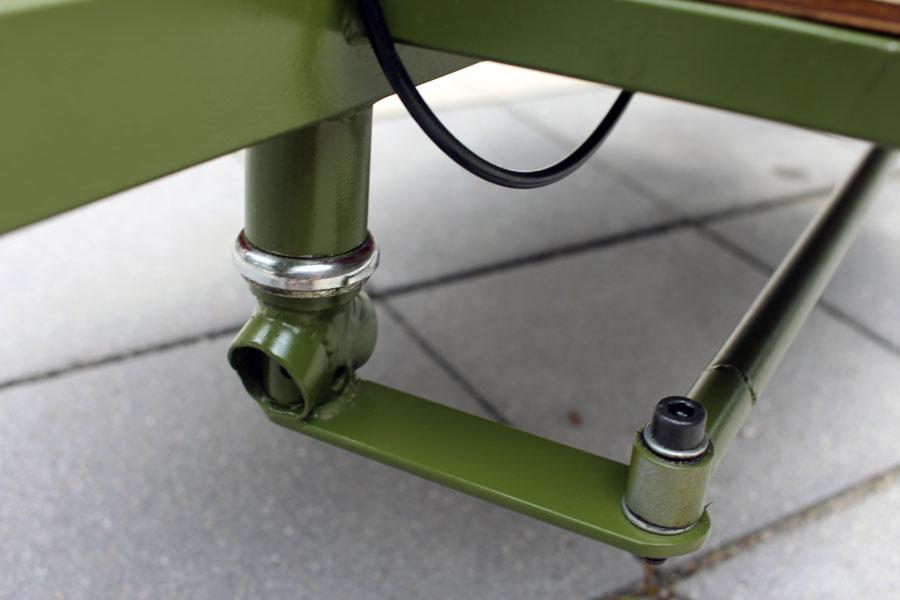 IMG 2478 - DIY: Wie man aus einem alten Fahrradrahmen und Stahlprofilen ein Lastenrad bauen kann