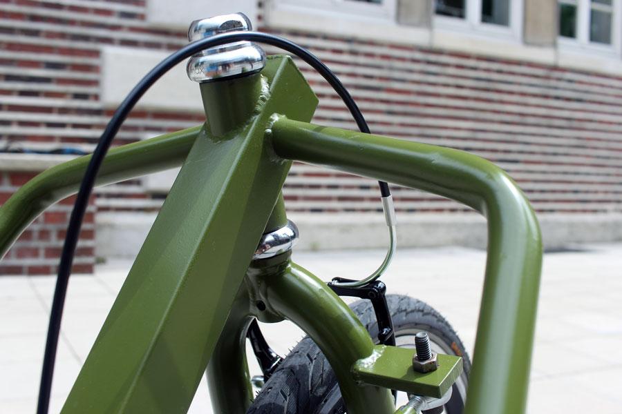 IMG 2480 - DIY: Wie man aus einem alten Fahrradrahmen und Stahlprofilen ein Lastenrad bauen kann