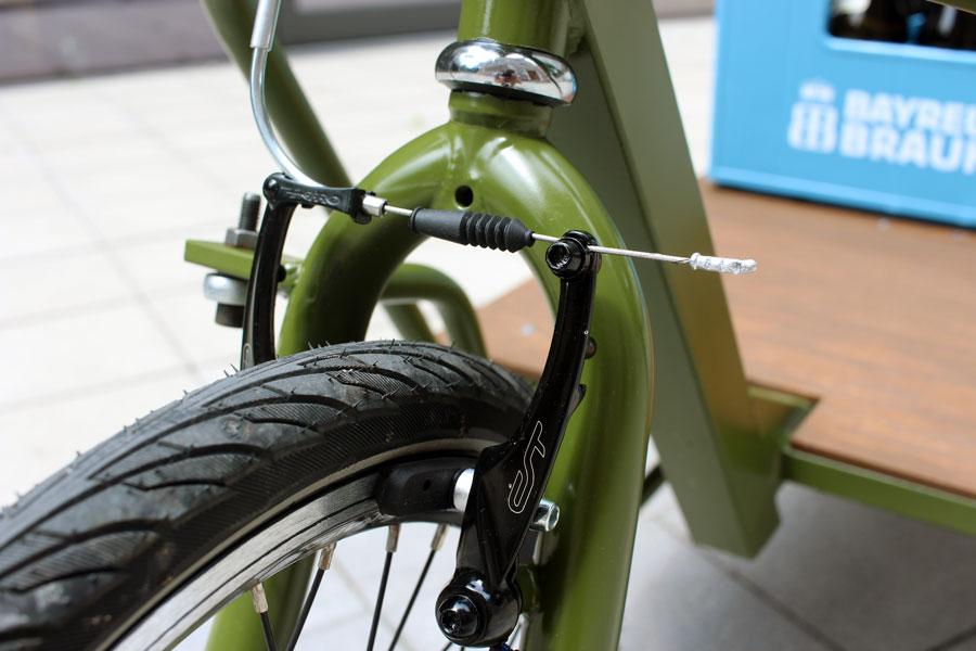 IMG 2481 - DIY: Wie man aus einem alten Fahrradrahmen und Stahlprofilen ein Lastenrad bauen kann