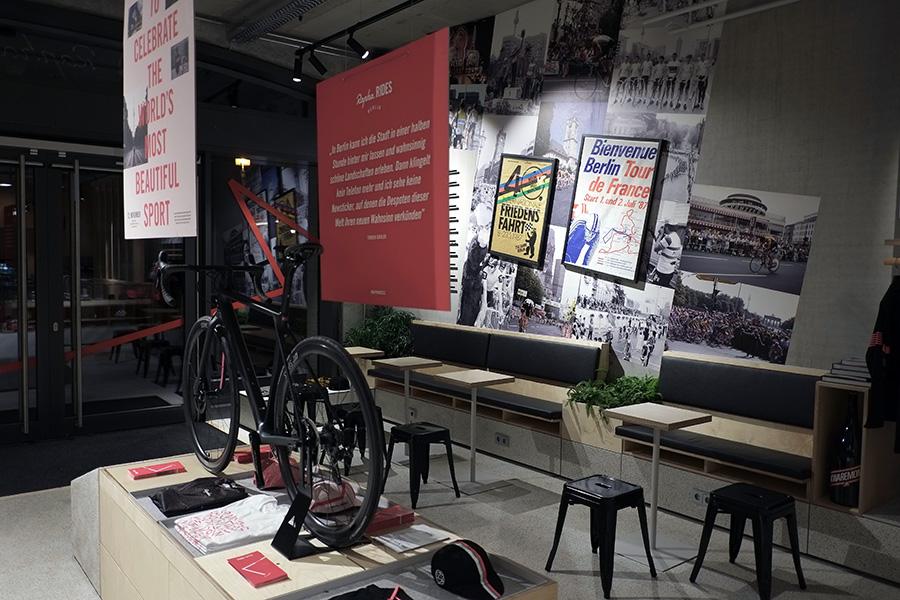 DSCF8189 - Eröffnung des ersten Rapha Clubhouse Deutschlands in Berlin