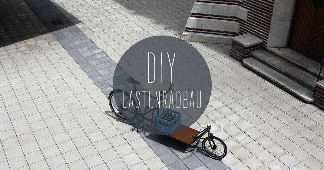 DIY: Wie man aus einem alten Fahrradrahmen und Stahlprofilen ein ...